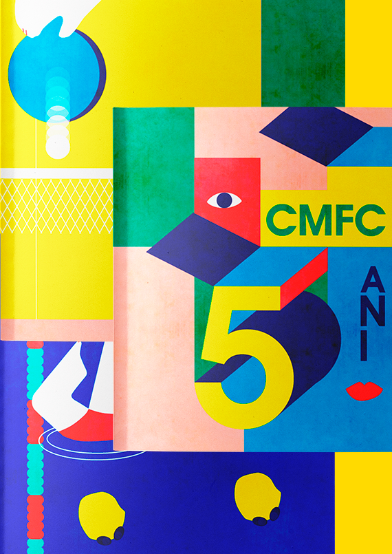 Editorial illustration for a series of interviews of the CMFC friends